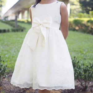 2-6Y Girls Bridal Flower Girl Beige Gown G20133B