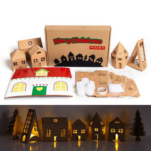 Make your own Christmas Lighting House DIY Set XM1031F