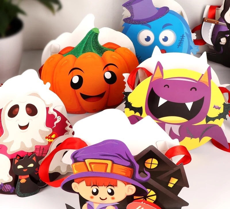 Halloween DIY treat bags / favor bags HLW1006H
