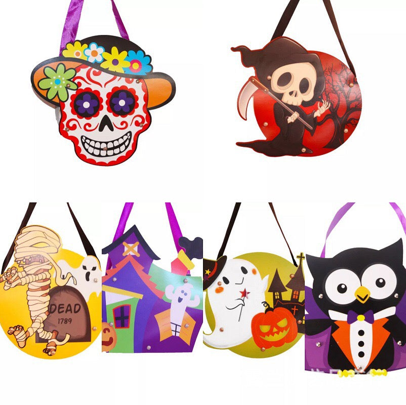 Halloween DIY treat bags / favor bags HLW1006G