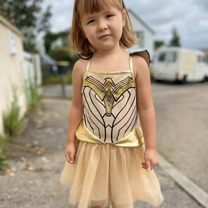 Girls Wonder Woman 1984 Superhero Dress A20137I