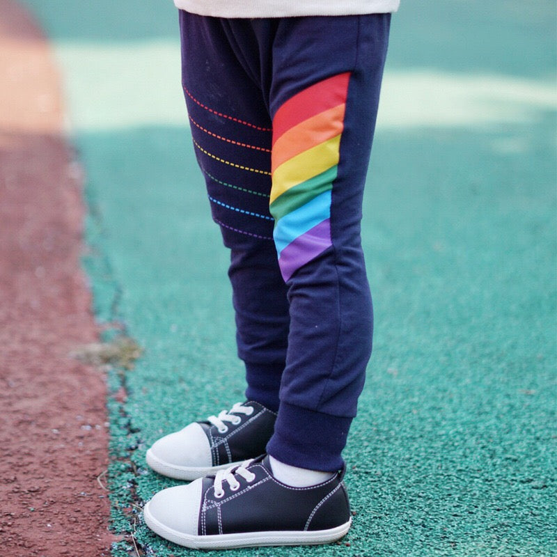1-6Y Kids Rainbow Tracking Pants A10312I