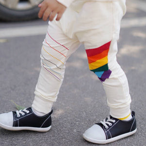 1-6Y Kids Rainbow Tracking Pants A10312J