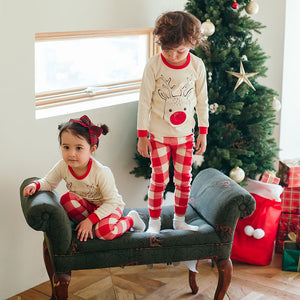 2-8Y Kids Christmas Pyjamas 2pcs Set A40421G