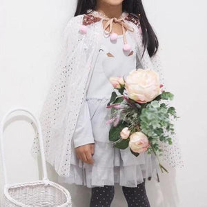 Girls Party Princess Cape A209I