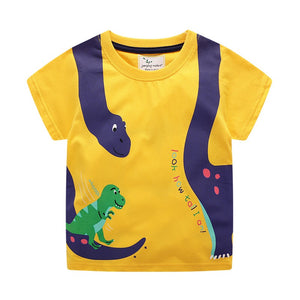2-7Y Boys Short Sleeve T-Shirt A10424I