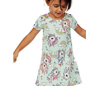 2-7Y Girls Jumping Meters Dress A20141M
