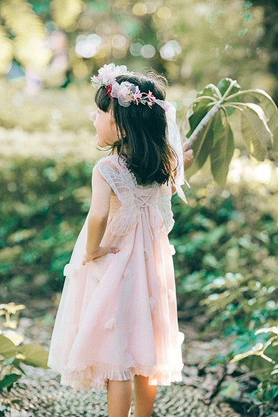 2-8Y Girls Fairy Dress with Butterfly Wings G20128A