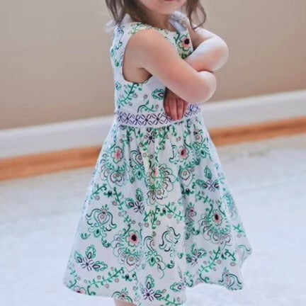 3-10Y Girls Bareback Peranakan Dress A20131L