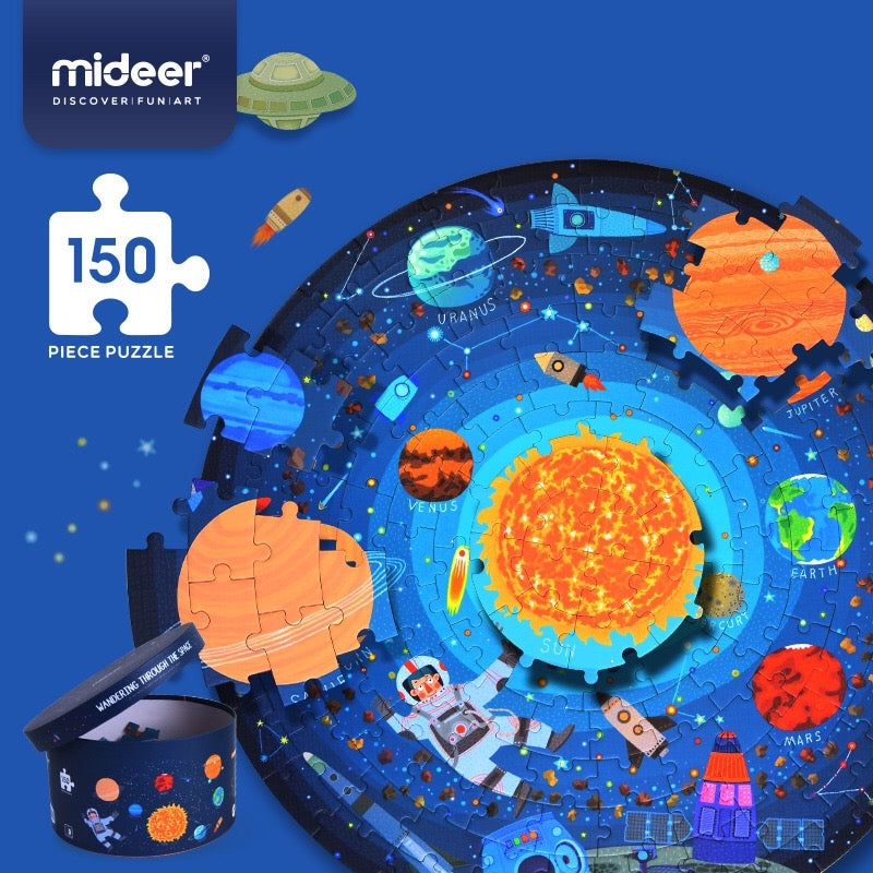 Mideer Space Explore 150 Pieces Big Puzzle MD2011B