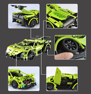Cada Technic Series DIY Building Blocks RC Sport Car T314A/ T314B/ T314C