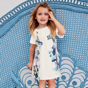 1-6Y Girls Little Maven Chinese Print Dress A2017K