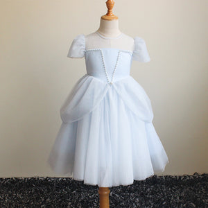 4-9Y Girls Elegant Princess Dress G2093A
