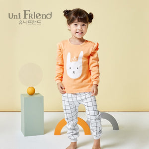 2-8Y Kid Pyjamas 2pcs Set A40421B
