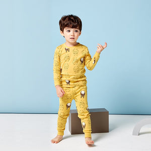 1-7Y Kid Pyjamas 2pcs Set A4042F