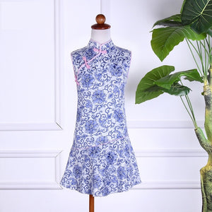 2-8Y Girls Cheongsam Dress A200C65C