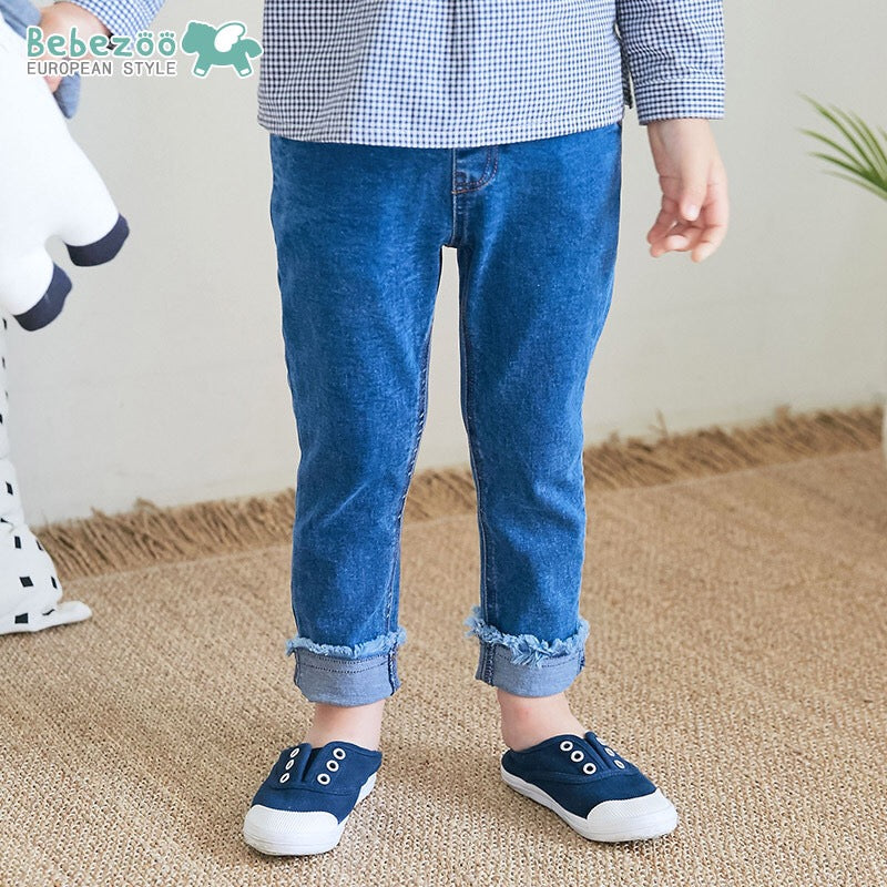 2-7Y Bebezoo Kids Smiley Denim Jeans A10313F