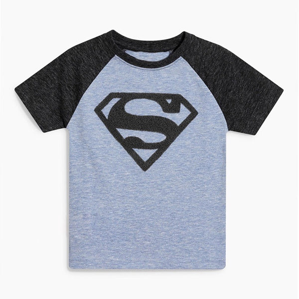 2-7Y Boys Jumping Beans Superman Top and Bottom 2pcs Set A10421I