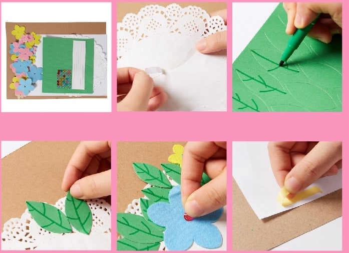 DIY Handmade Appreciation Card for Mother TD1003E