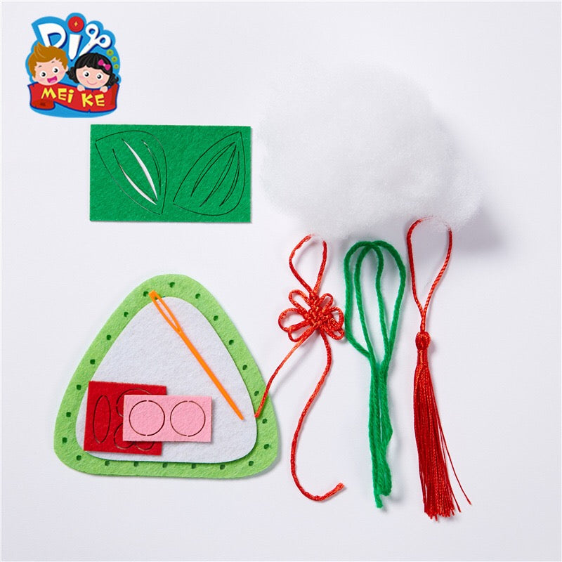 Dragon Boat Festival Dumping Art and Craft DIY Pack CNY1021A/CNY1021B/CNY1021C