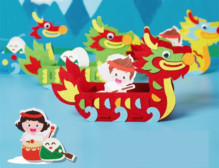 Dragon Boat Festival Art and Craft DIY Pack CNY1022A