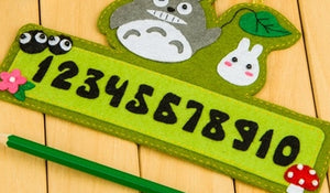 Make Your Own Felt Number Plate DIY Kit AC3014B