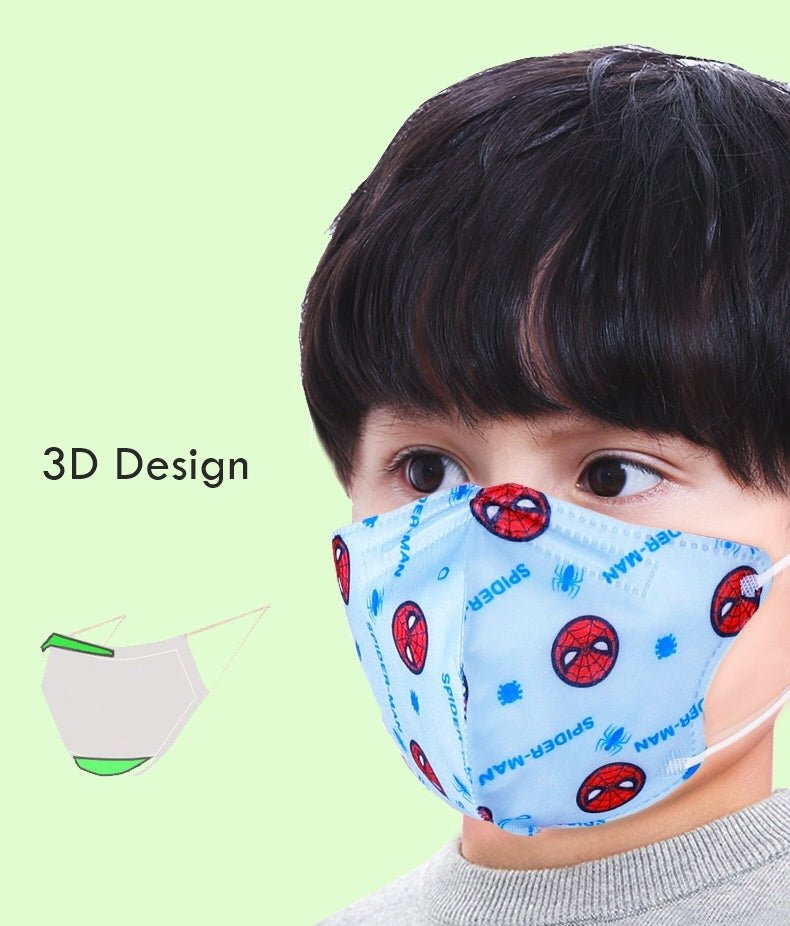 Child's Disposable Face Mask 5-pieces Pack