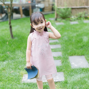 2-6Y Girls Cheongsam Dress A200C15G