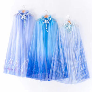 Girls Blue Gradient Cape G20911A/ G20911B/ G20911C