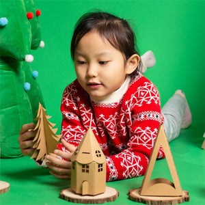 Make your own Christmas Lighting House DIY Set XM1031A
