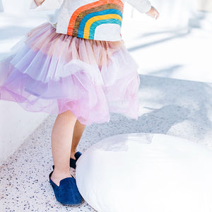 1-6Y Girls Rainbow Skirt A2046D
