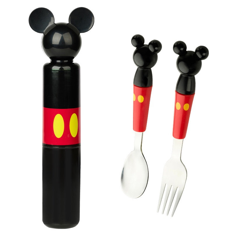 Children On The Go Fork & Spoon Set C6021A / Carrying Case C6021B
