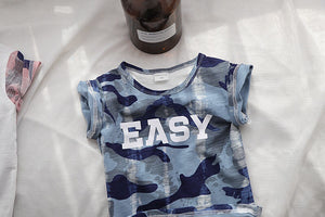 1-6Y Kids Camouflage Shirt A10462E