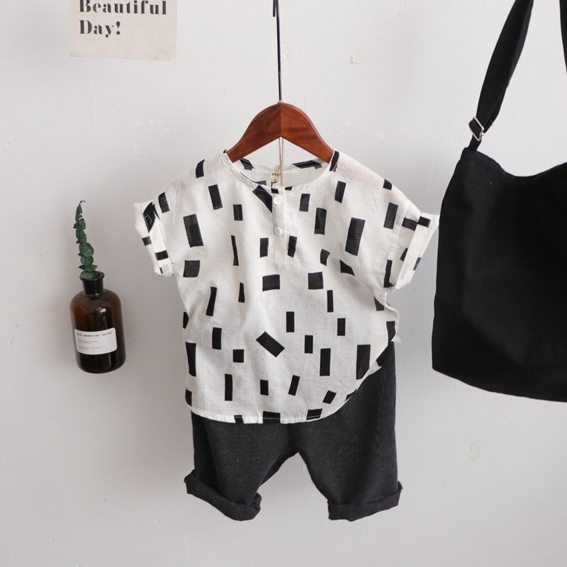 1-6Y Kids Casual Shirt A10462F