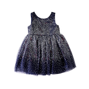 2-10Y Girls Sequins Tulle Party Dress G20126M