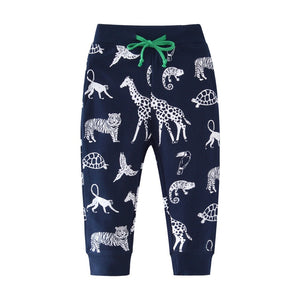 2-7Y Boys Forest Tracking Pants A10312K