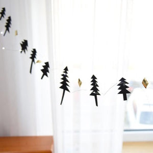 Christmas Tree Garland A723J