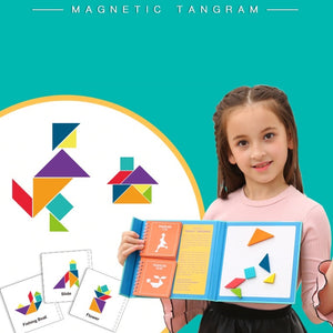 Saalin Magnetic Tangram MD2018A