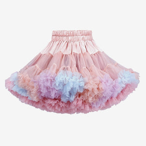Girls Reversible Puffy Tutu Skirt A20414C