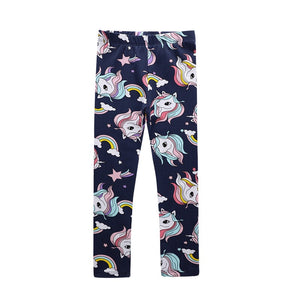 2-7Y Girls Jumping Meters Legging Pants A20413D