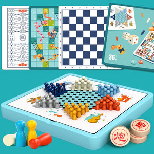 Classic Board Games 4 IN 1 MD2012C/ 10 IN 1 MD2012D