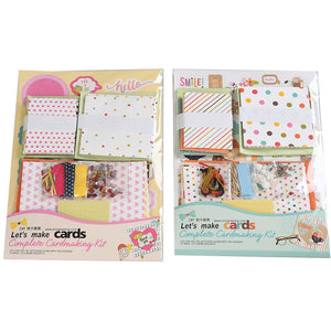 DIY 16-pieces Cards Kit for Friends , Family or Teachers TD1121A/TD1121B