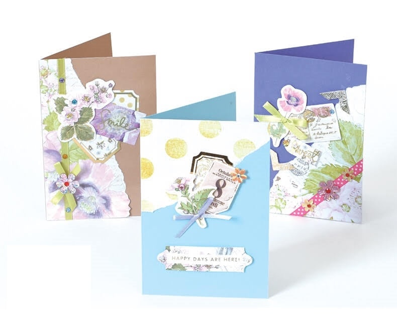 DIY 3-pieces Cards Kit for Friends , Family or Teachers
