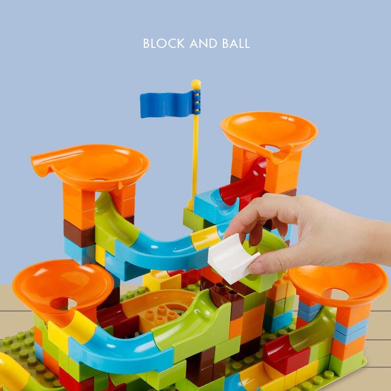 Block and Ball Sliding Construction Set T5HA