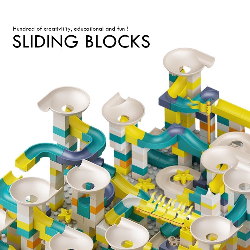 Block and Ball Sliding Construction Set T5HB