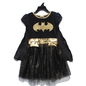 Batgirl Batman Dress with Cape A20134A