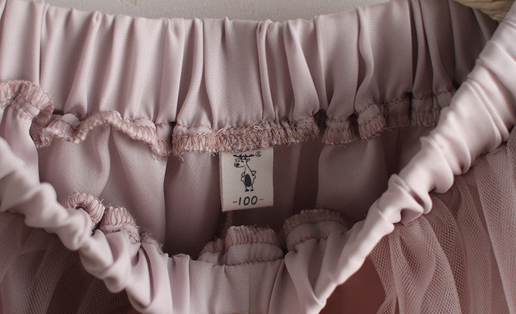 2-8Y Girls Tulle Skort A200C31C (Mother sizes available)