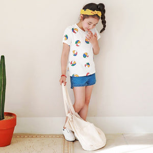3-15Y Kids Casual Tee A20211E