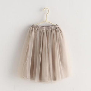 2-8Y Girls Tulle Skort A200C31D (Mother sizes available)