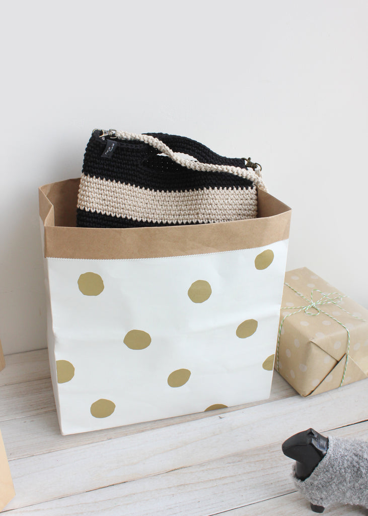 Durable Kraft Paper Storage Bag H612A/B/C